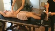 Gay foot fettish Naughty homosexual dude garad enjoys bondage session
