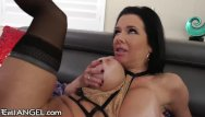 Milf vaginal - Big titty milf veronica avluv drilled anally and vaginally