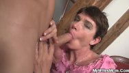 Cum hungry wife Cock-hungry mother-in-law rides his dick