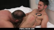 How to become a gay model Familydick - young stud taught how to fuck by his scruffy older daddy