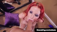 Tassel twirling boobs Lucky dick sucked by shanda fay who twirls cock gets cum