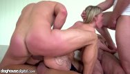 3 on 1 blowjob - 3 doctors, 1 patient a young nurse gangbang