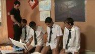 Gay teacher tube - Cute twink students team up to blow their teacher