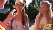 Katrine hansen xxx Fake hostel - hot slim blonde fucked hard after lesbian friend blocked