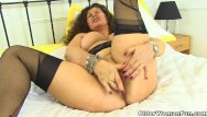 Striped ar15 lower - English milf gilly lowers her knickers