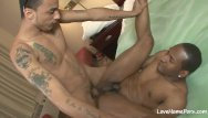 Gay black porn xxx - Horny black lad really loves to get fucked