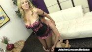 Adult website awards Award winning milf julia ann foot fucks a hard slave cock