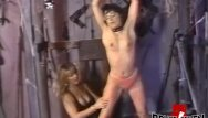 Careena collins gangbang Lesbian femdom playing with her restrained submissive