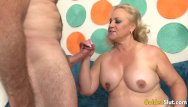 Free slut granny sex videos Cock crazed granny blows a prick before engulfing it with her greedy cunt
