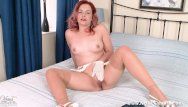 White sheer bikini - Retro babe anna belle strips off sheer white panties for nylons pussy play