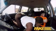 Paula jai parker xxx - Fake driving school hot ebony jai james with huge tits cant drive