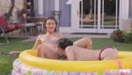 Eliza dushku xxx - Alina and eliza get each other wet and orgasm even harder