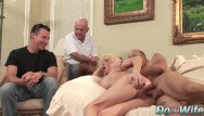 Wife having sex with a stranger Big boobed wife kasey grant is sodomized by a stranger in front of hubby