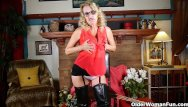 Help wanted mature teen fun scene club - American milf justine wants to play in leather lingerie