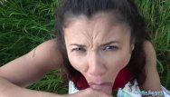 Field strip glock 23 - Public agent sexy spanish beauty fucked in a field for cash