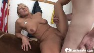 Some porn actresses love the sex Blonde milf gets some big hard dick