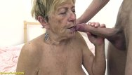 Grany cum facial 90 years old granny gets rough fucked