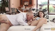 Good looking mature - Daddy4k. daddy stretches good-looking chick while son is not at home