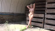 Free outdoor nude galleries - Mature lady sonia strips completely nude outdoors