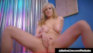 World class deepthroat World class stripping milf julia ann rubs her perfect pussy