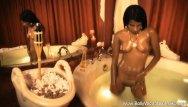 Rihanna fully nude - Bathing bollywood brunette beauty fully nude