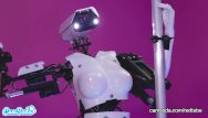 Sex vs religion - Camsoda - sex robot vs human, twerk, dirty talk and orgasm contest