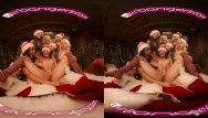Babe christmas sexy wallpaper Vrbangers christmas orgy with abella danger and her 7 sexy elves vr porn