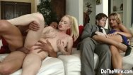 Adult entitainment Pale swinger wife nikki delano rammed by a stud for husbands entertainment