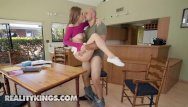 Jilling off sex video - Naughty school girl jill kassidy suck off her study mat - reality kings