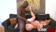 Weird things shoved up ass porn - Busty blonde babe paris sweet shoves a big black cock up her ass