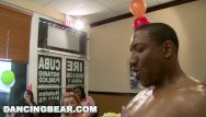 Bear facials - Dancing bear - this birthday party gets turnt up by big dick male strippers