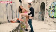 Hardcore sex outside - Letsdoeit - slutty teen sarah sultry takes a big cock outside