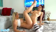 Teen sister free video Lesbian teen forces her step-sister to eat pussy after playing video games