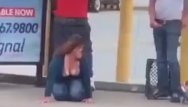 Free drunk passed out porn Drunk fucks homeless out bus stop
