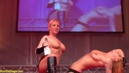 Lesbian cowgirl stories - Flexi cowgirl milfs on public stage