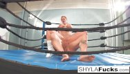 Pool lessons then fucked - Sexy shyla stylez gets some lessons on mma training but then gives a lesson