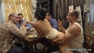 Sex perversions - Shared wife with daddys friends