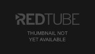 Red teen boy gay Blonde twink plays with a red dildo