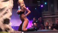 Naked on stage photos German stepmom naked on public stage
