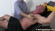 Gay fetish dominate - Muscular hunk enjoys getting dominated and tickled on feet