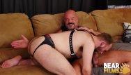 Gay short film - Bearfilms cub harper davis barebacked by bear jack dyer