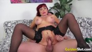 Sexy older woman video - Golden slut - horny older cowgirls compilation part 4