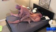 Bishop gay porn star Breedmeraw burly stud bishop angus jerks off before bareback