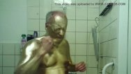 Clinic enema fetish Golden bodypainting enema slave