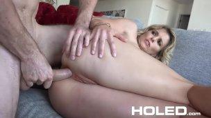 HOLED – Virgin boy anal fucks busty stepmom Cory Chase