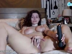 Camsoda - Indica Flower first time on Webcam Masturbation