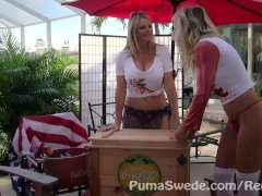 Diet Cunt!! Puma Swede & Vicky Vette!