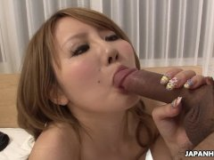 Delectable Asian Slut Getting Her Hairy Tacco