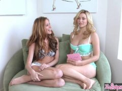 Twistys - Bree Morgan , Heather Vandeven Strip And Talk To The Fans