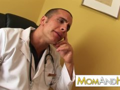 Milf Mother Kayla Synz Anal Invasion With Freaky Doctor